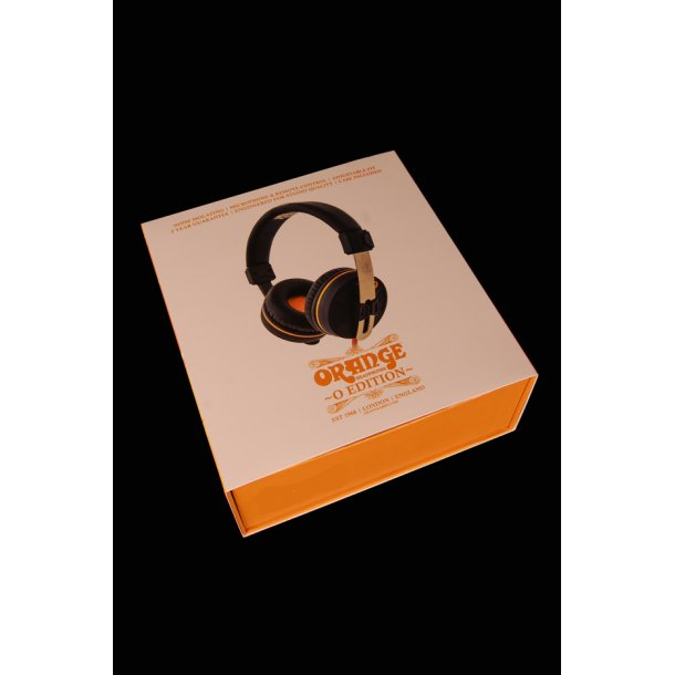 Orange Headphones O-edition